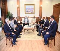 محافظ بورسعيد يستقبل وزير الزراعة واستصلاح الأراضي