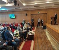 وزير الزراعة ومحافظ بورسعيد يعقدان لقاءا مفتوحًا بديوان المحافظة