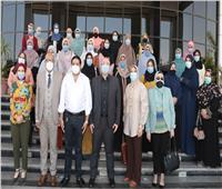 إطلاق مبادرة لتوعية السيدات للحصول على لقاح كورونا ببني سويف