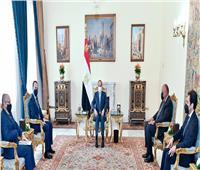 السيسي يؤكد حرص مصر على تعزيز التعاون المشترك على مختلف الأصعدة مع قبرص