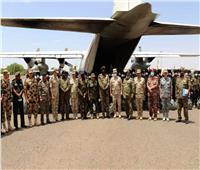 وصول القوات المصرية المشاركة في التدريب المشترك «حماة النيل» للسودان |صور