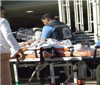 وصول حالتين من جرحي فلسطين الي مستشفي العريش العام