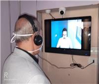 لأول مرة في الدقهلية .. تفعيل شاشات لتواصل مرضى كرورنا مع ذويهم خارج العزل