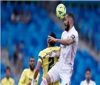 الشوط الأول  ريال يتقدم على ريال مدريد بهدف ..فيديو