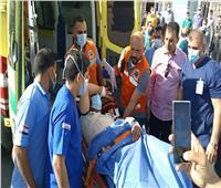 مستشفى العريش: تحويل 5 مصابين فلسطينيين من غزة إلى القاهرة