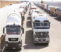 أكبر قافلة مساعدات مصرية .. هدية من السيسى لغزة