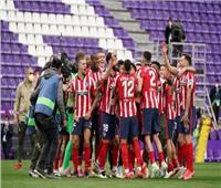 احتفالات جماهير ولاعبي أتليتكو مدريد بلقب «الليجا الإسبانية» | فيديو