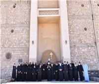 البابا تواضروسيزور دير «أبومقار»