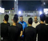 كارتيرون يُحفز لاعبي الزمالك قبل لقاء المصري في الدوري