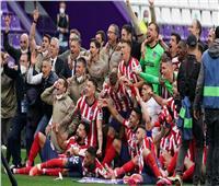 «ريال مدريد» يُهنئ أتلتيكو بلقب «الليجا الإسبانية»