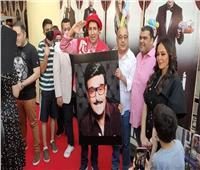هاني رمزي يفتتح مسرحية «أبو العربي» بحضور وزيرة الثقافة