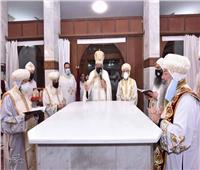 في يوبيلها الذهبي.. أعمال رعوية لثلاثة من البطاركةفي كنيسة مارمرقس بالمعادي