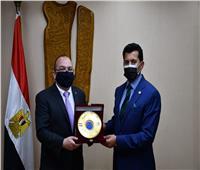 وزير الرياضة يبحث اشهار اتحاد مصري للعبة«التيكبول»