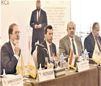 انفراد  وفد من اتحاد اللجان الأولمبية في القاهرة لتكريم الرئيس السيسي