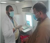 فحص 1089 مواطنا في قافلة طبية للتضامن ببني سويف