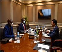 «صبحي» يلتقي وزير الرياضة النيجيري بالجمعية العمومية لـ«الأنوكا»