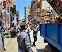 المنوفية: تنفيذ 80 حالةإزالة فورية وتحرير 8 إشغال طريق |صور