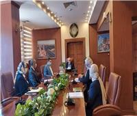 محافظ بورسعيد يستقبل متدربي البرنامج الرئاسي لتأهيل الشباب للقيادة