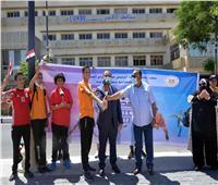 إنطلاق مراسم شعلة أولمبياد الطفل المصري للطلائع في نسخته الثالثة ٢٠٢١