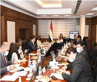 وزيرة التخطيط تناقش البرنامج الوطني للإصلاحات الهيكلية مع بعثة صندوق النقد