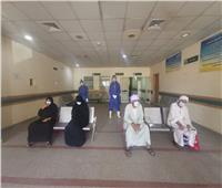 إرتفاع عدد المتعافين من كورونا بمستشفى قفط بقنا إلى 348 حالة