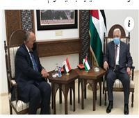 محمود عباس يستقبل وزير الخارجية