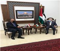 الخارجية: زيارة «شكري» لرام الله دعم للأشقاء الفلسطينيين
