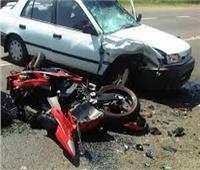 إصابة «خفير نظامي» في حادث سير على طريق «جمصة - المنصورة»
