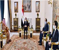 الرئيس السيسي يستقبل المستشار تركي آل الشيخ   فيديو