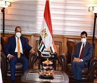 وزير الرياضة يستقبل سفير الإمارات بمصر لبحث سبل التعاون المشترك