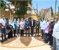 وزير السياحة يتفقد أعمال تطوير شجرة مريم ضمن مسار العائلة المقدسة| فيديو