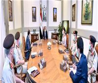 الرئيس يستعرض الموقف الإنشائي لعدد من مشروعات الهيئة الهندسية