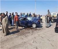 مصرع وإصابة 5 أشخاص في حادث سيارة بالمنيا