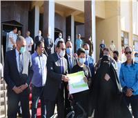 محافظ شمال سيناء يوقد شعلة «أوليمبياد الطفل المصرى» في نسخته الثالثة