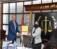 حقوق المنصورة تستقبل لجنة قطاع الدراسات القانونية بوزارة التعليم العالي