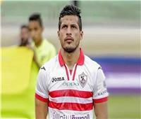 طارق حامد يرتدي شارة قيادة الزمالك أمام المصري