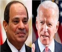 بايدن للسيسي: أمريكا عازمة على بذل الجهود لضمان الأمن المائي المصري