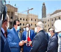 وزير التعليم العالي والخشت يتفقدان فرع جامعة القاهرة الدولية بأكتوبر