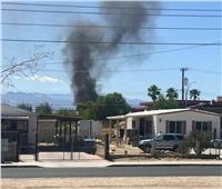 تحطم طائرة عسكرية أمريكية ومقتل قائدها بالقرب من لاس فيجاس