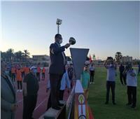 الوادي الجديد تستقبل شعلة أولمبياد الطفل المصري
