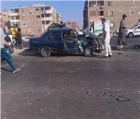إصابة 5 أشخاص في حادث تصادم بالسلام