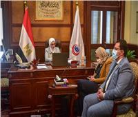 «زايد والمشاط» تبحثان مع السفير الكندي والأمم المتحدة التعاون في القطاع الصحي