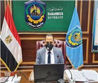 مجلس جامعة دمنهور يشيد بمبادرة الرئيس السيسي لإعادة إعمار غزة