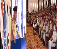 وزير الدفاع يشهد مناقشة البحث الرئيسي لإدارة الشئون المعنوية للقوات المسلحة |فيديو