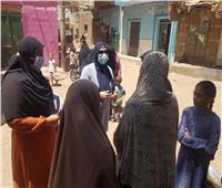 بمحافظة «بني سويف» ..«القومي للمرأة» ينظم حملات توعية بأهمية لقاح «كورونا»