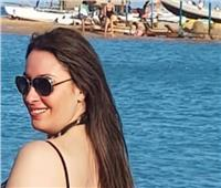 شاهد| نرمين الفقي تستمتع بأجواء الصيف في البحر