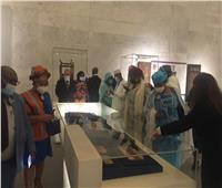 المتحف القومى للحضارة يستقبل سفراء الدول الأفريقية   صور