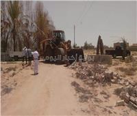 استرداد 45 ألف متر من أراضي الدولة وإزالة التعديات بـ «الإسماعيلية»
