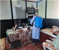 «شمال سيناء» تواصل حملة التطهير والتعقيم لمواجهة الموجة الثالثة