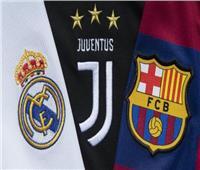 «يويفا» يبدأ الإجراءات التأديبية ضد ريال مدريد وبرشلونة ويوفنتوس